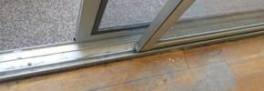 Sliding Door Track Replacement & Track Repair