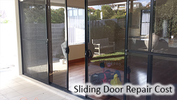 Sliding door repair cost
