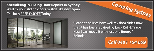 sliding door repair services sydney