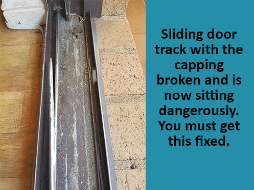 Sliding Door Track Replacement & Track Repair